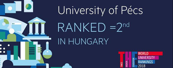 The latest university ranking: The University of Pécs belongs to the elit
